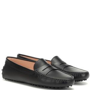 Leather mocassins - TOD'S